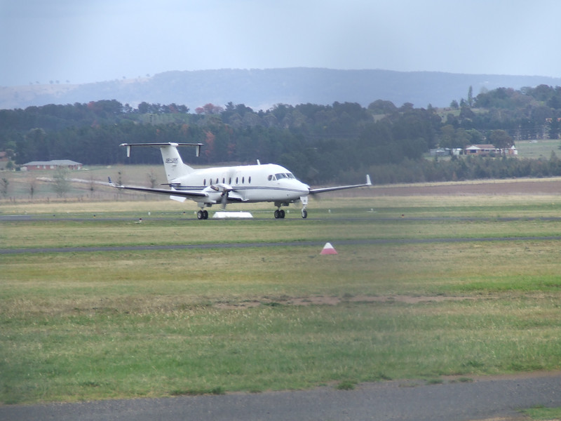 A beech 1900 operated by Air link
