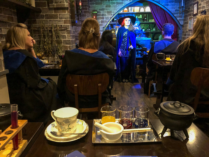 Harry Potter Potion Room tea