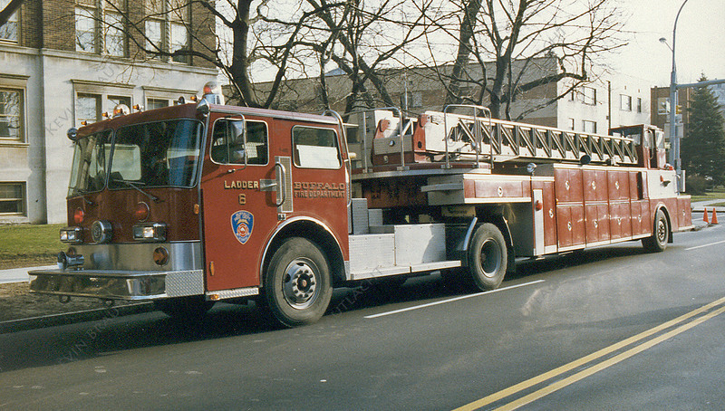 Ladder 6 Tiller Buffalo Fire Department