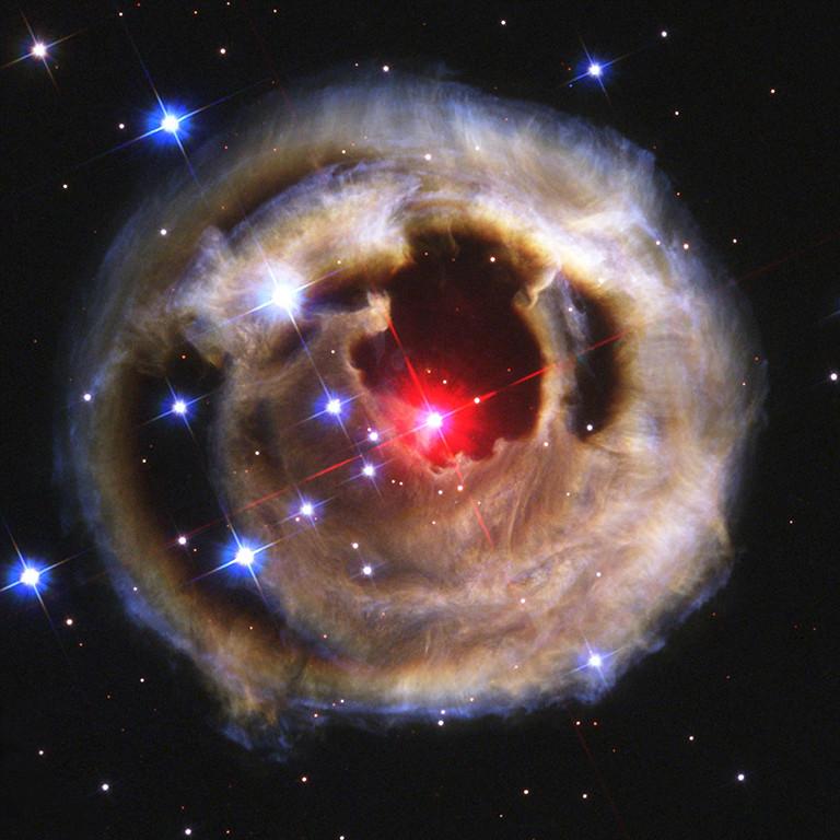 . 2003: V838 Monocerotis  Credit: NASA, ESA and H.E. Bond (STScI)