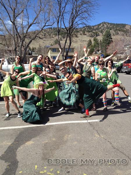 Boulder Hash #641 2nd Annual Green Dress Run