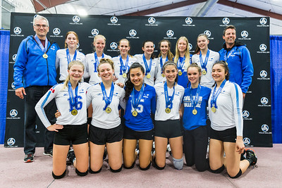 2019 Club Provincial Championships - 16U Girls Awards and Medals
