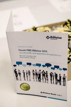 Forum PME Bâloise 2015