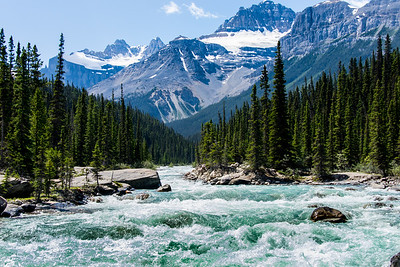 Turbulent River, Rocky Mountains, Canada