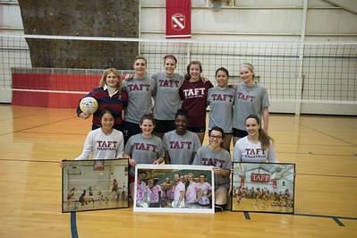 1/31/15: Alumnae Volleyball