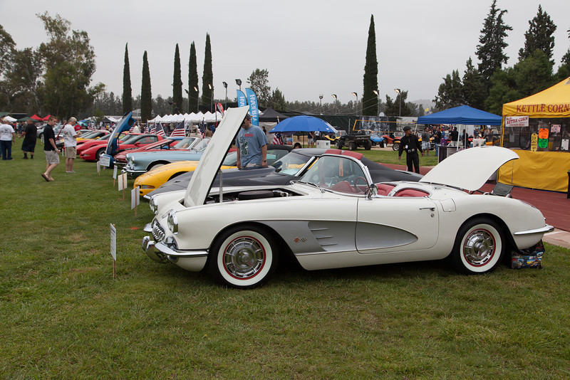 Leland McCoy's 1960 Chevrolet Corvette - original California car, numbers matching.