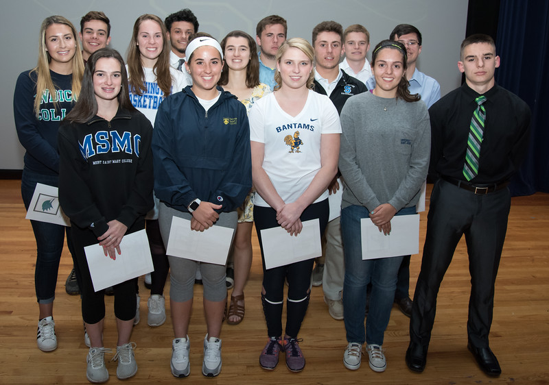 06/12/18  Wesley Bunnell   Staff  Southington High School held college signings on Tuesday afternoon for 14 student athletes committed to playing college sports.
