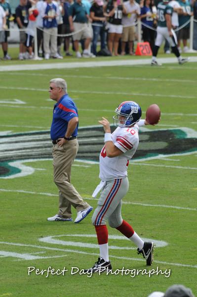 Eagles vs. Giants - September 25, 2011