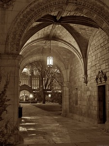 Entry to the Law Quad