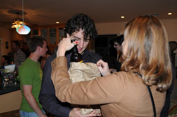 Bottle of Beer Sendoff Party for James