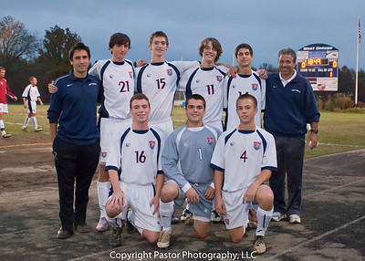 WGHS Boys Soccer Senior Night