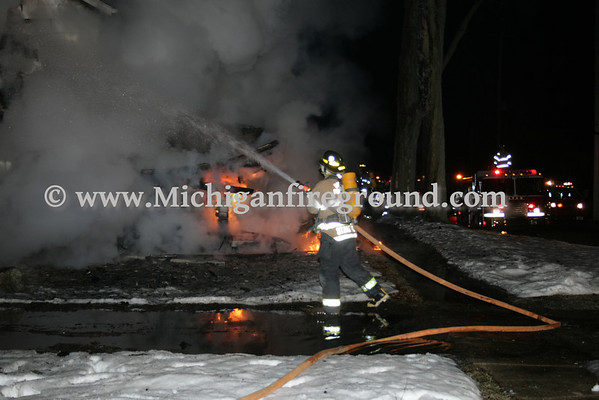 3/8/10 - Dansville house fire, 1349 South St