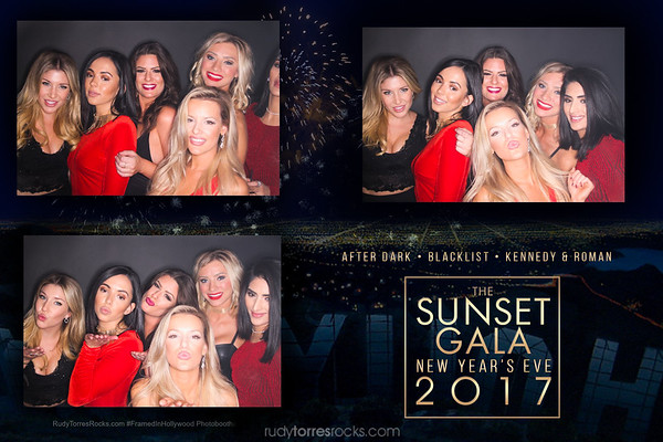 The Sunset Gala NYE Photobooth 12.31.2016