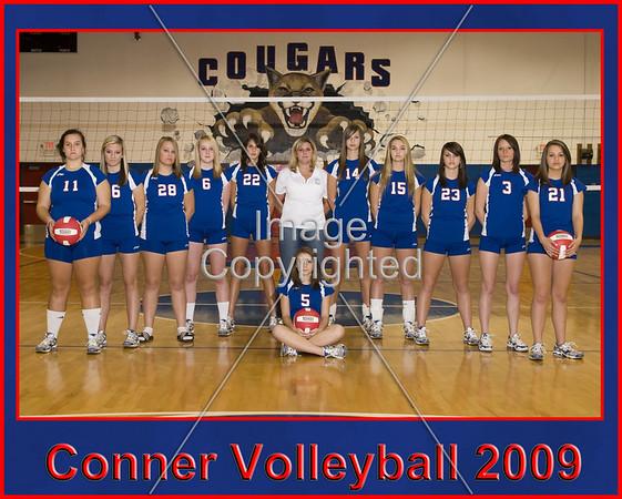 Conner Volleyball Team Photos