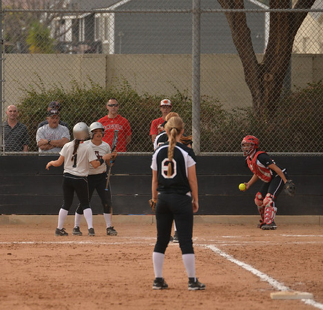 2014-02-15 Softball v Biola