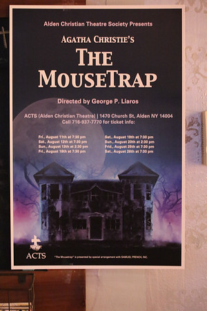 The Mousetrap   at  ACTS in Alden