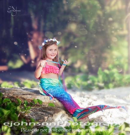 Alaina Mermaid Shoot