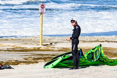 Colin Lewis Kite Surfing Long Beach 5-7-17
