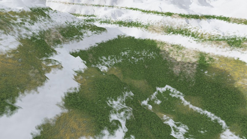 Ice Mountain 11 : A Computer Generated Image from Daily Animation