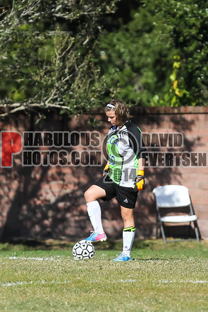 Lake Mary Prep @ Cornerstone Charter Academy Girls Varsity Soccer - 2013