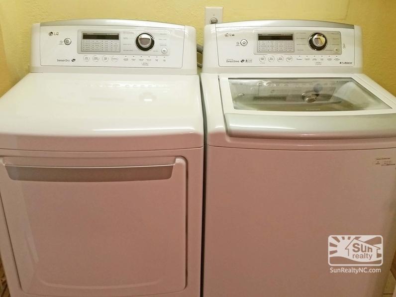 Ground-Level Laundry Area