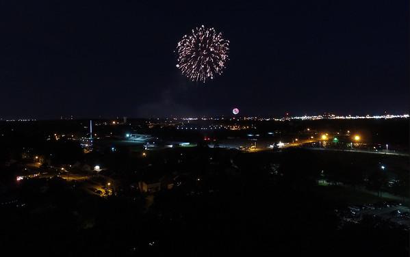 July 4 2017 Fireworks, Hoover High School, N. Canton