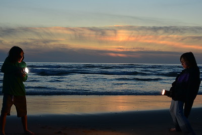 Waldport - June 27th - Flashy Sunset