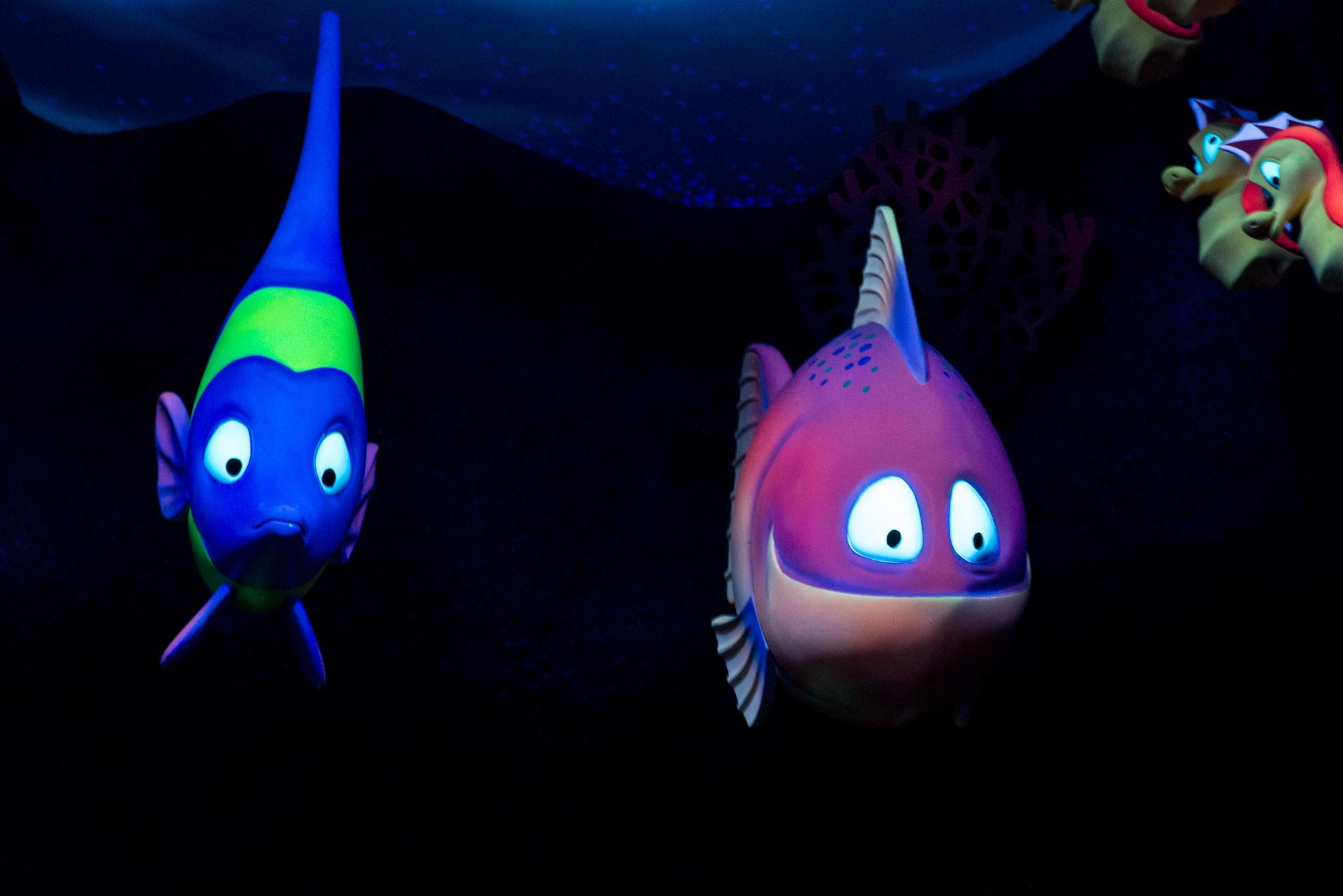 Mermaid Fish - Walt Disney World Magic Kingdom
