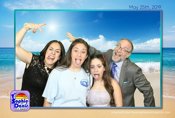 5/25/19 Sophie and Dani's OC Bash Bat Mitzvah