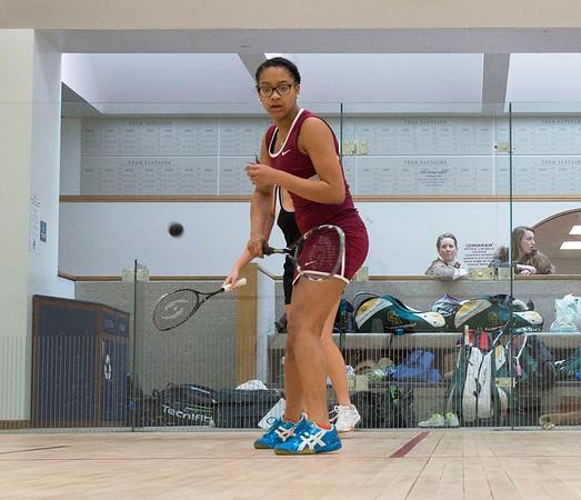 1/31/15: Girls' Varsity Squash v Greenwich Academy