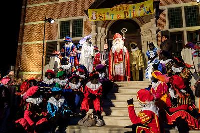Lichtstoet en Sinterklaas 2018 - Gemeentehuis