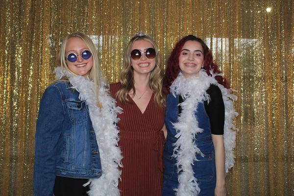 Alexa's Golden 16th Birthday Party