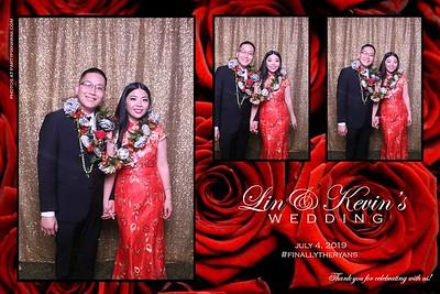 Kevin & Lin's Wedding (Magic Mirror Photo Booth)