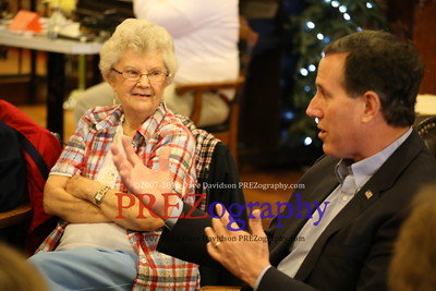 Rick Santorum Clarinda Garrison House 3-24-15