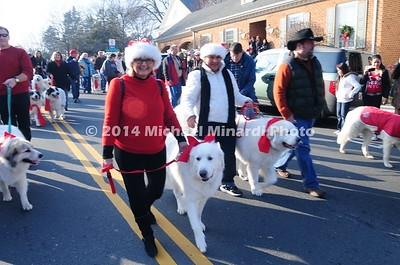 Christmas Dog Parade 2012