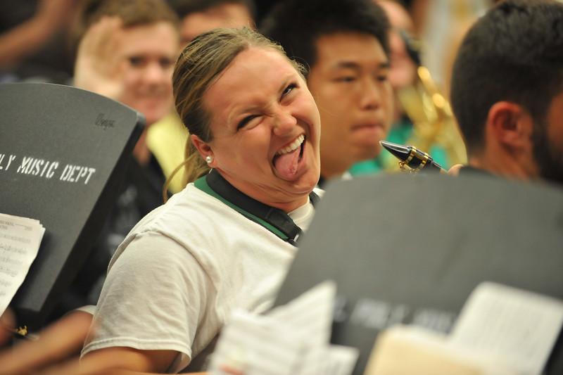 Band Camp 2014 Sep. 18, 2014. Photo by Ian Billings