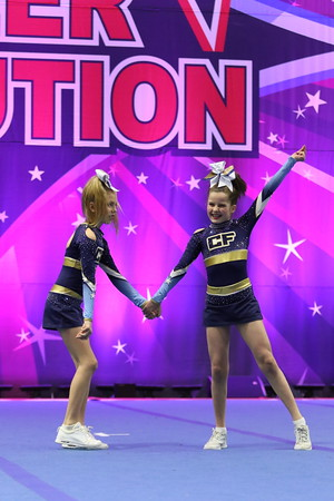 CheerForce WolfPack  Irelyn & Katie - Youth Duo 2