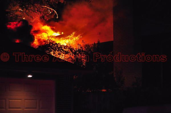 Cimarron Hills 2-Alarm House Fire-CHFD