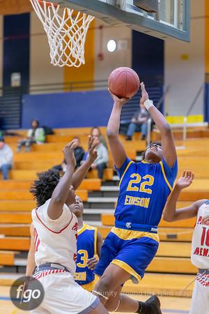 2-27-19 Minneapolis Patrick Henry at Minneapolis Edison Boys Basketball