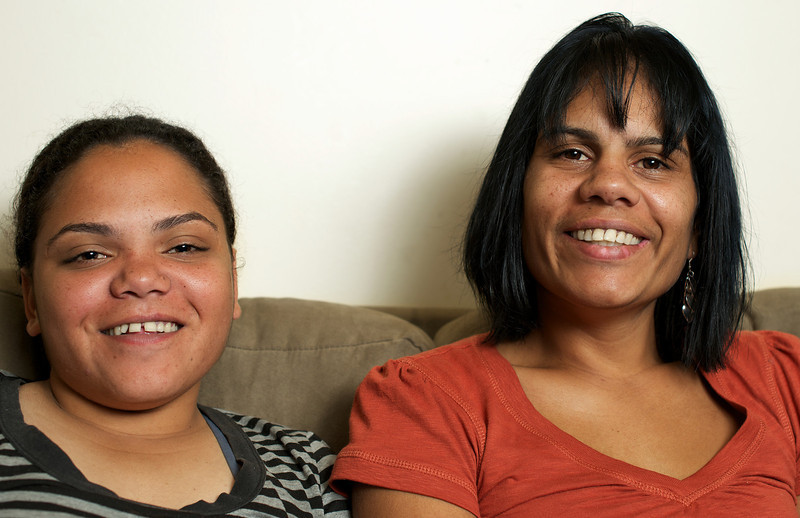 Two Indigenous Australian Women, cheerful