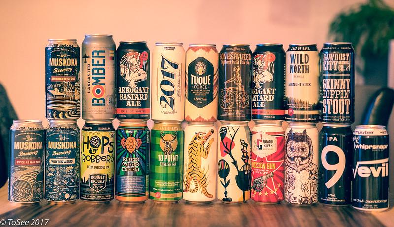 Bières 2017