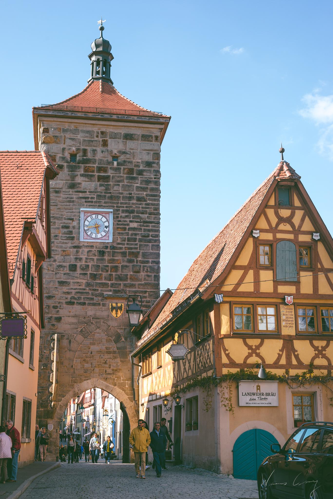 到德國攝影 羅騰堡 可愛的中世紀童話小鎮 Rothenburg ob der Tauber by Wilhelm Chang