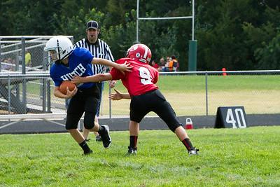 Rec Football 6th Grade vs. Hutch (2013)
