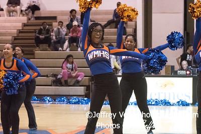 1/05/2018 Watkins Mill HS Varsity Poms, Photos by Jeffrey Vogt Photography