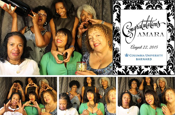 Amara's Columbia Congrats Party 8.22.15