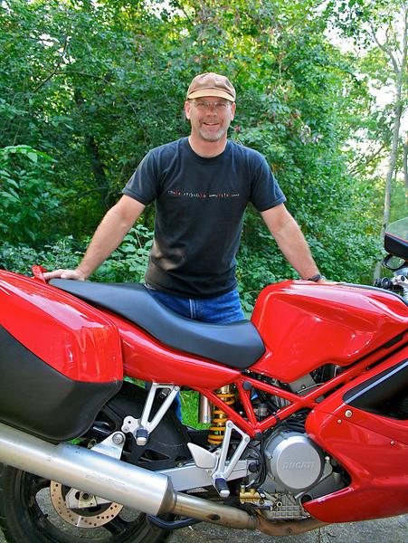 Ducati motorcycle.