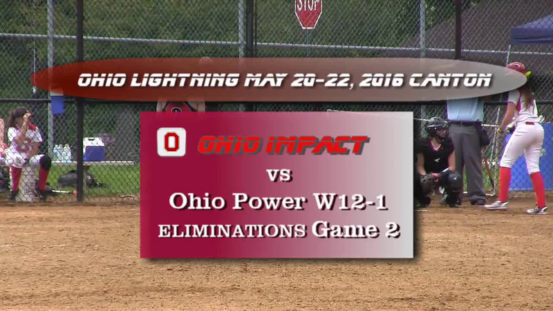 lightning tourney may 20-22, 2016 eliminations game 2 vs ohio power w12-1.movie.wmv