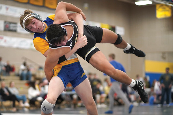Sheridan Broncs wrestling team hosts Border Wars. (01-18-2020)
