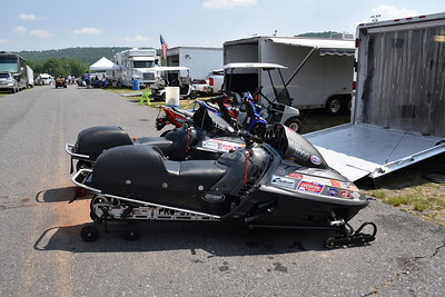 Pro Stock Sleds Pits and Staging Lanes