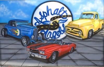 Classic Car Show / Asphalt Angels / Wildcat Band RBP HS